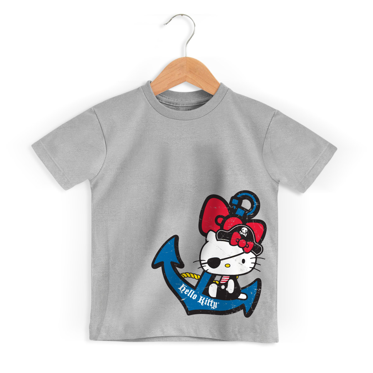 Camiseta Infantil Hello Kitty Pirate 2