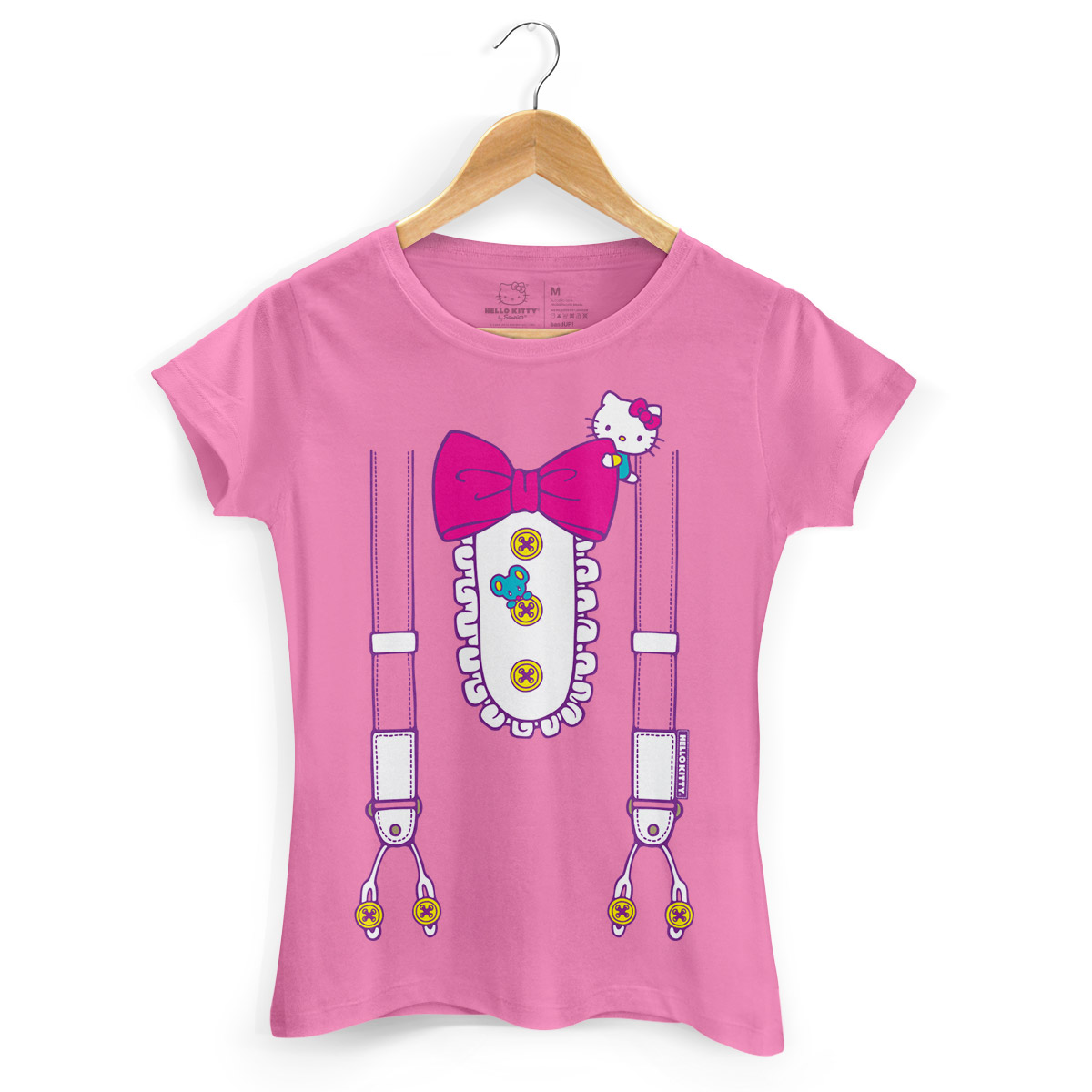 Camiseta Hello Kitty Suspender