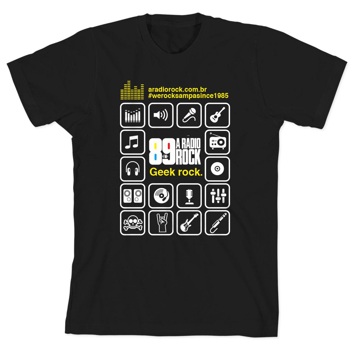 Camiseta Infantil 89 FM  �cones