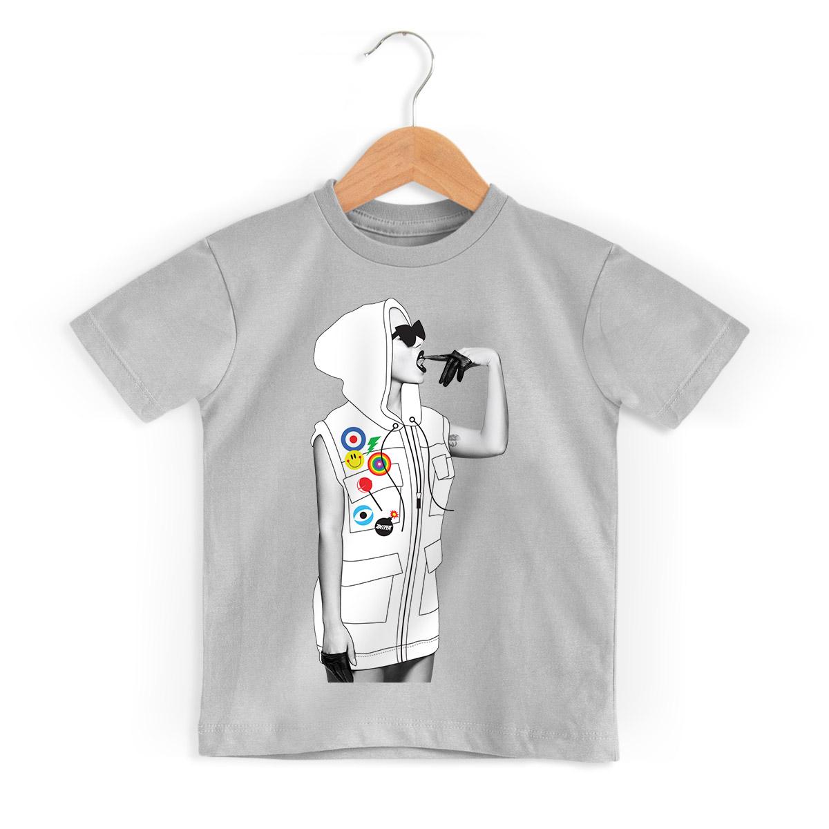 Camiseta Infantil Anitta Deixa a Onda te Levar