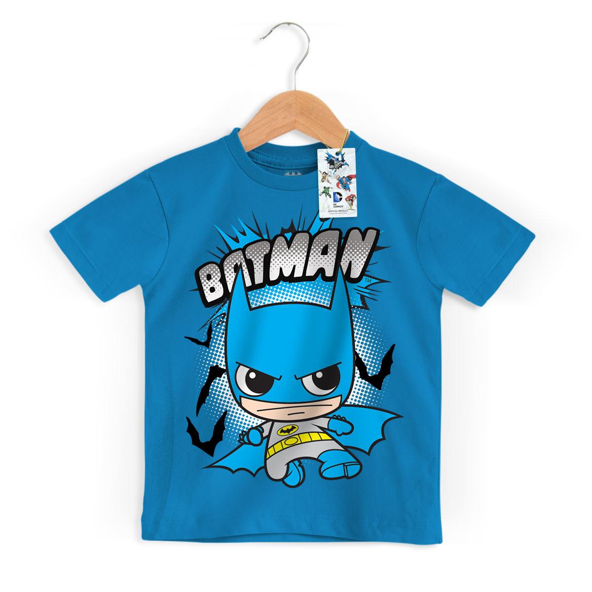 Camiseta Infantil DC Comics Batman Kid