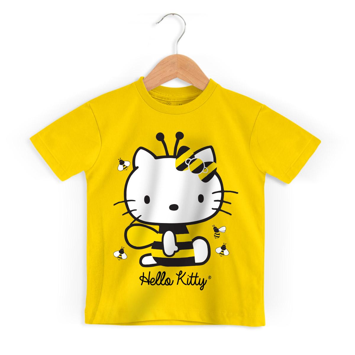 Camiseta Infantil Hello Kitty Bee