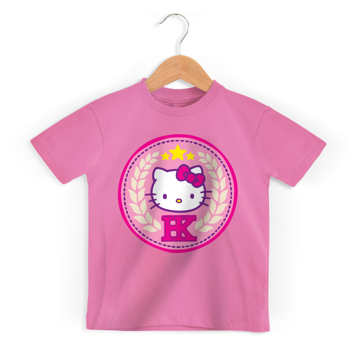 Camiseta Infantil Hello Kitty College Team