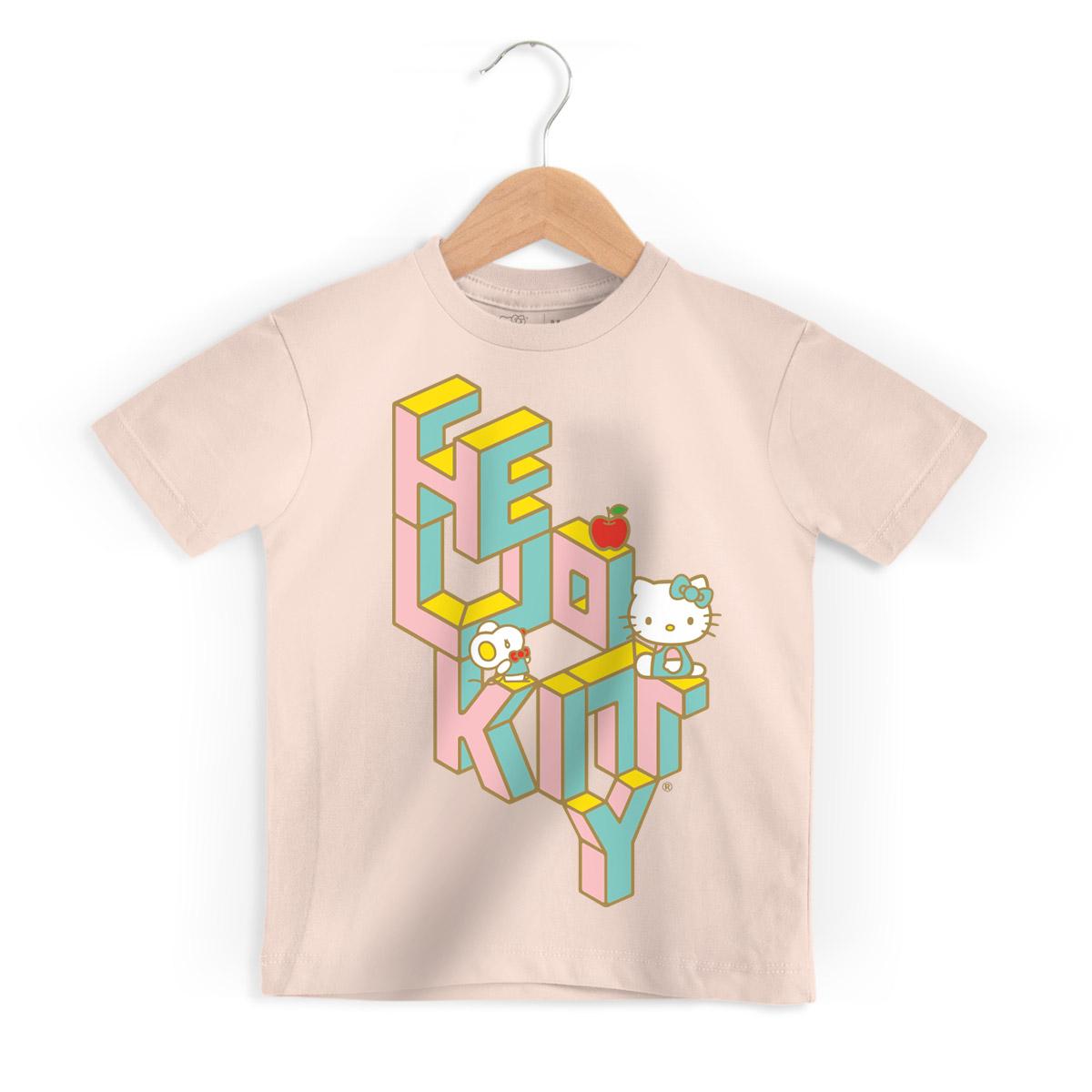 Camiseta Infantil Hello Kitty Futura