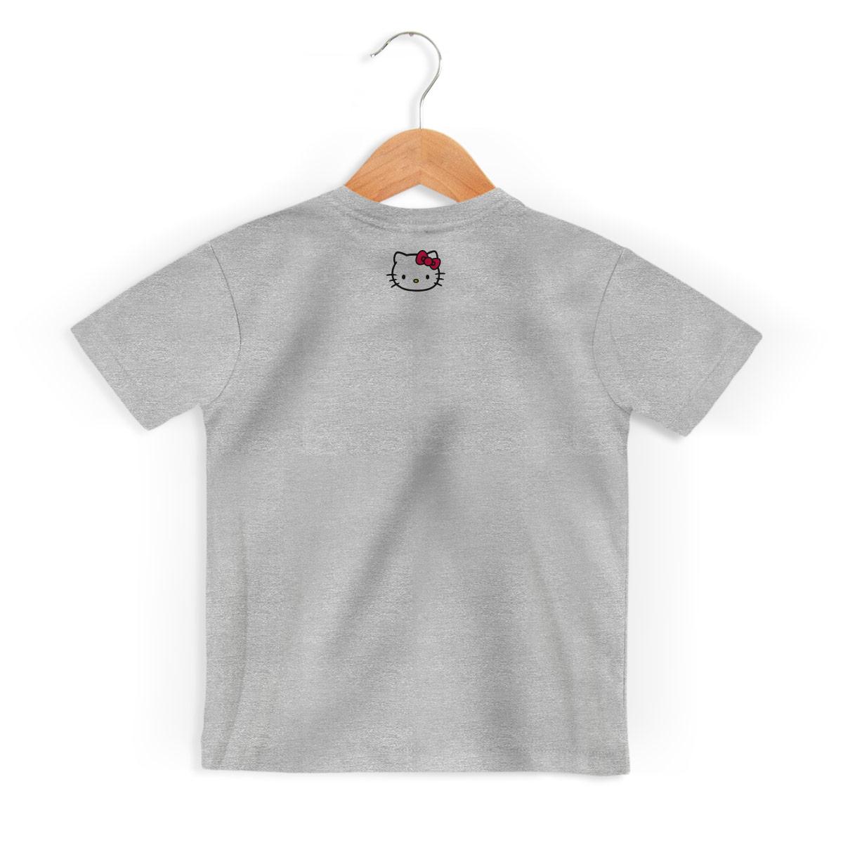 Camiseta Infantil Hello Kitty I Love HK