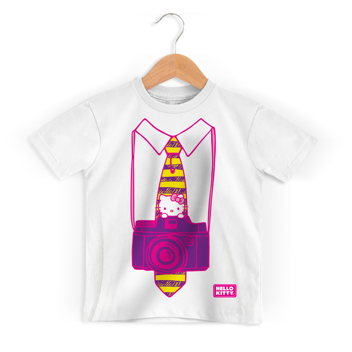 Camiseta Infantil Hello Kitty Photography