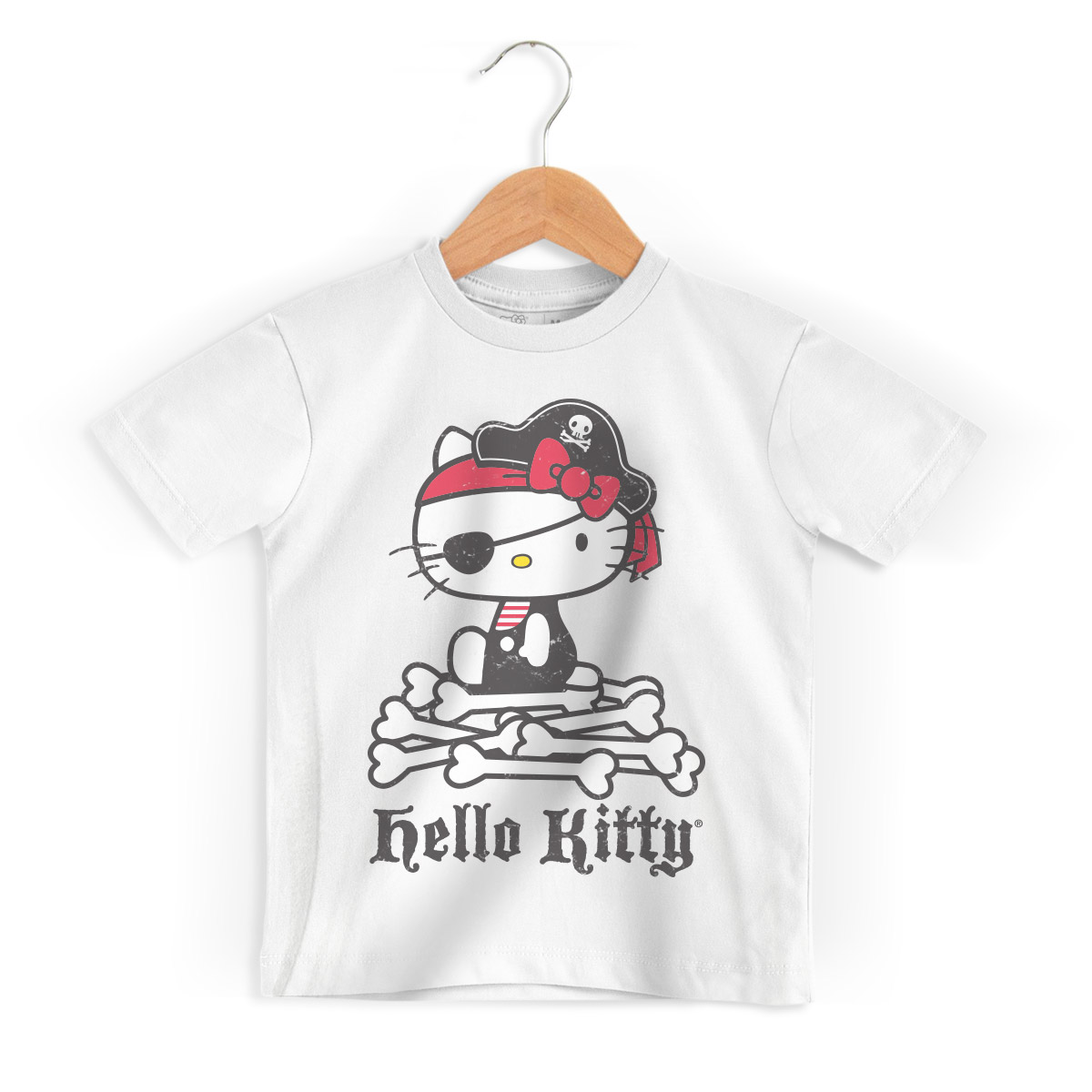 Camiseta Infantil Hello Kitty Pirate