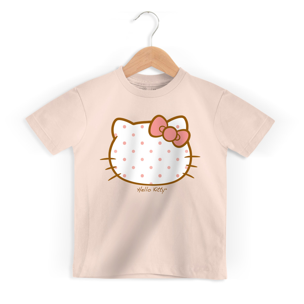 Camiseta Infantil Hello Kitty Poá Paris