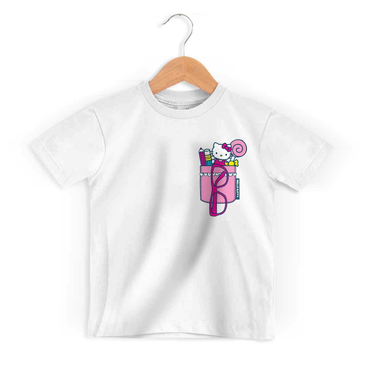 Camiseta Infantil Hello Kitty Porta Treco