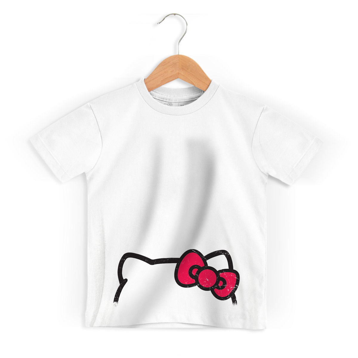 Camiseta Infantil Hello Kitty Ribbons 2