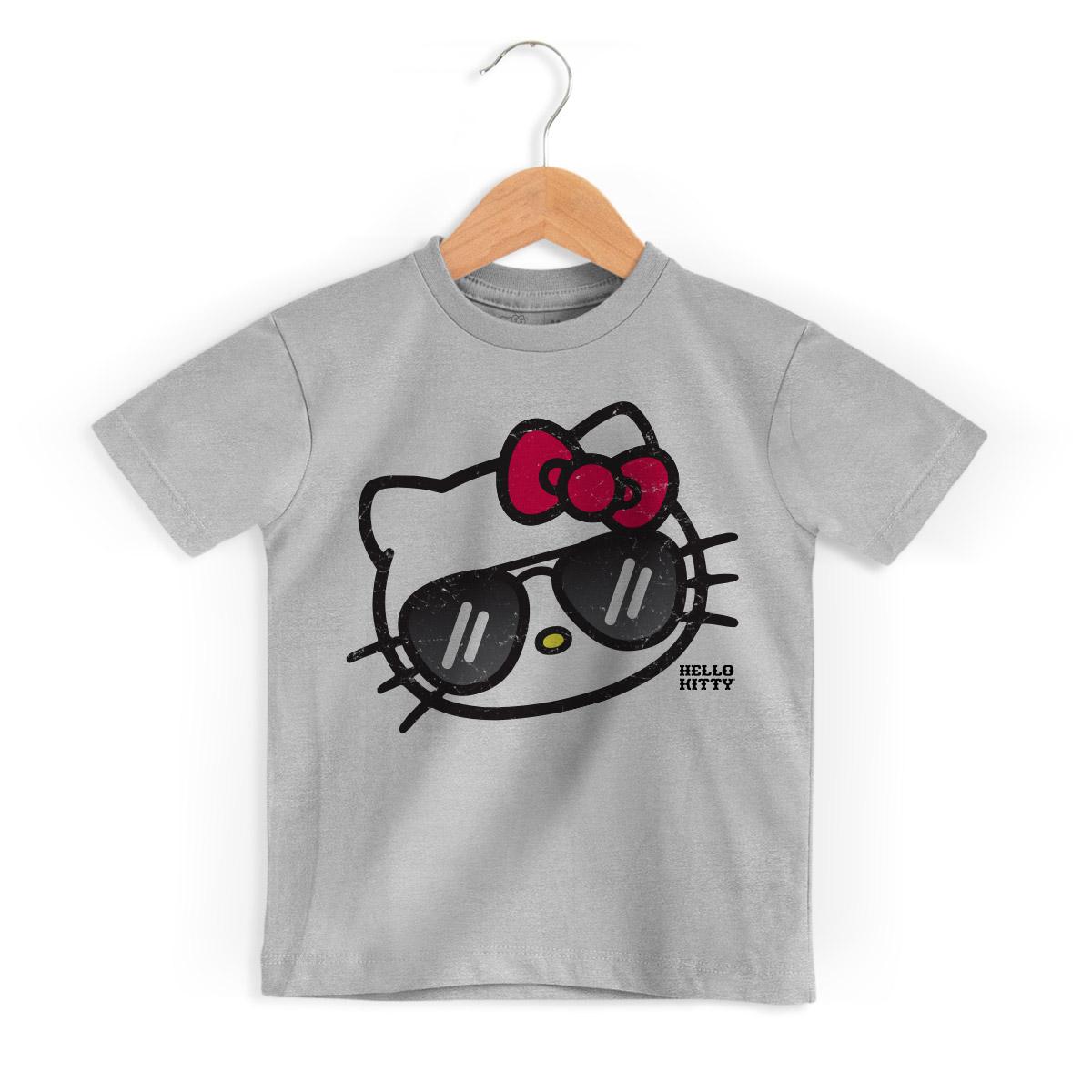 Camiseta Infantil Hello Kitty Sunglasses