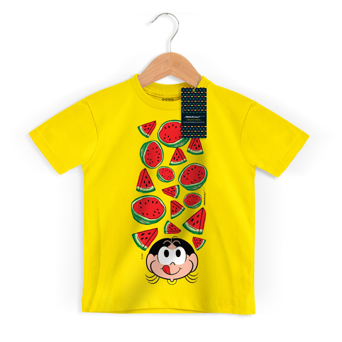 Camiseta Infantil Magali 50 Anos Hungry