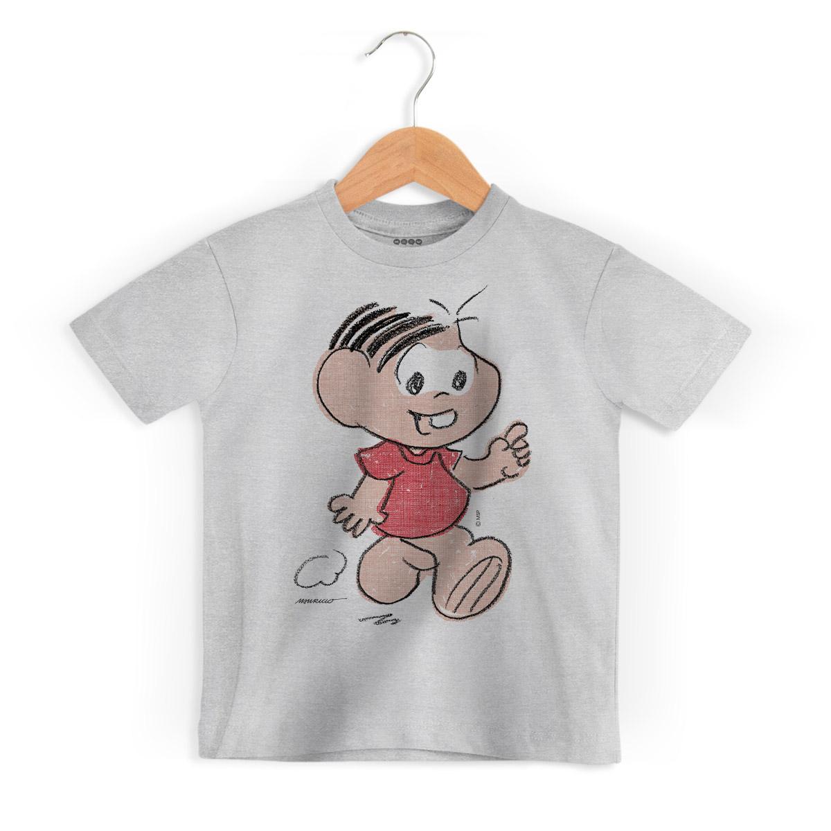 Camiseta Infantil Maurício de Sousa 80 Anos Mônica