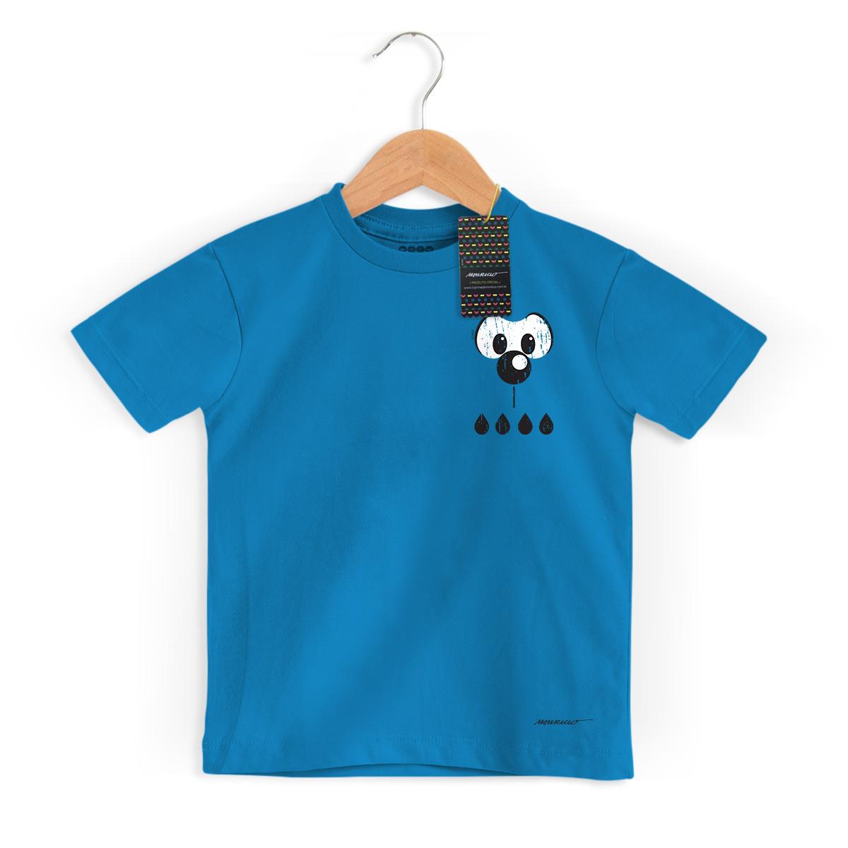 Camiseta Infantil Turma da Mônica Cool Olhões Bidu