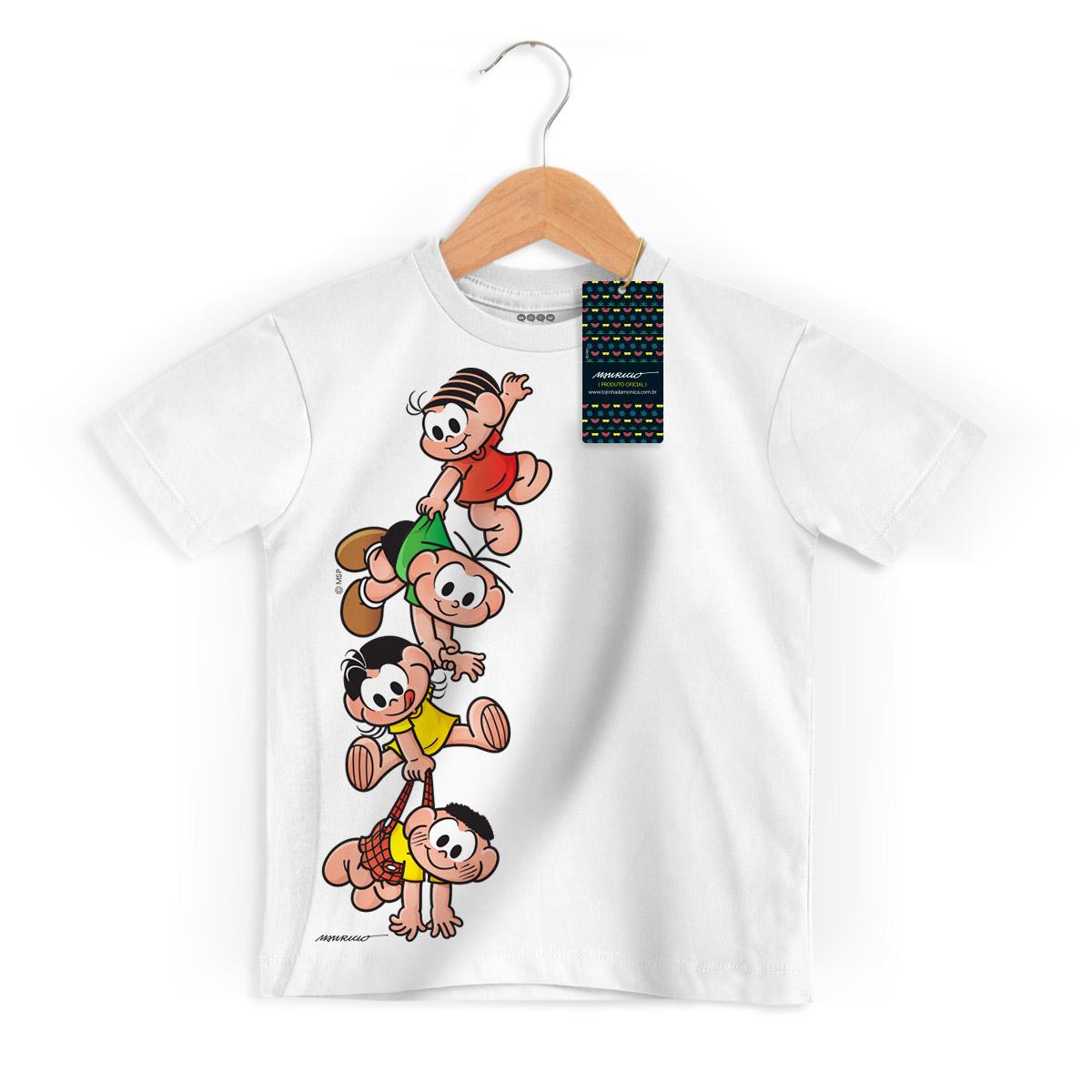 Camiseta Infantil Turma Da M�nica Kids A Turma