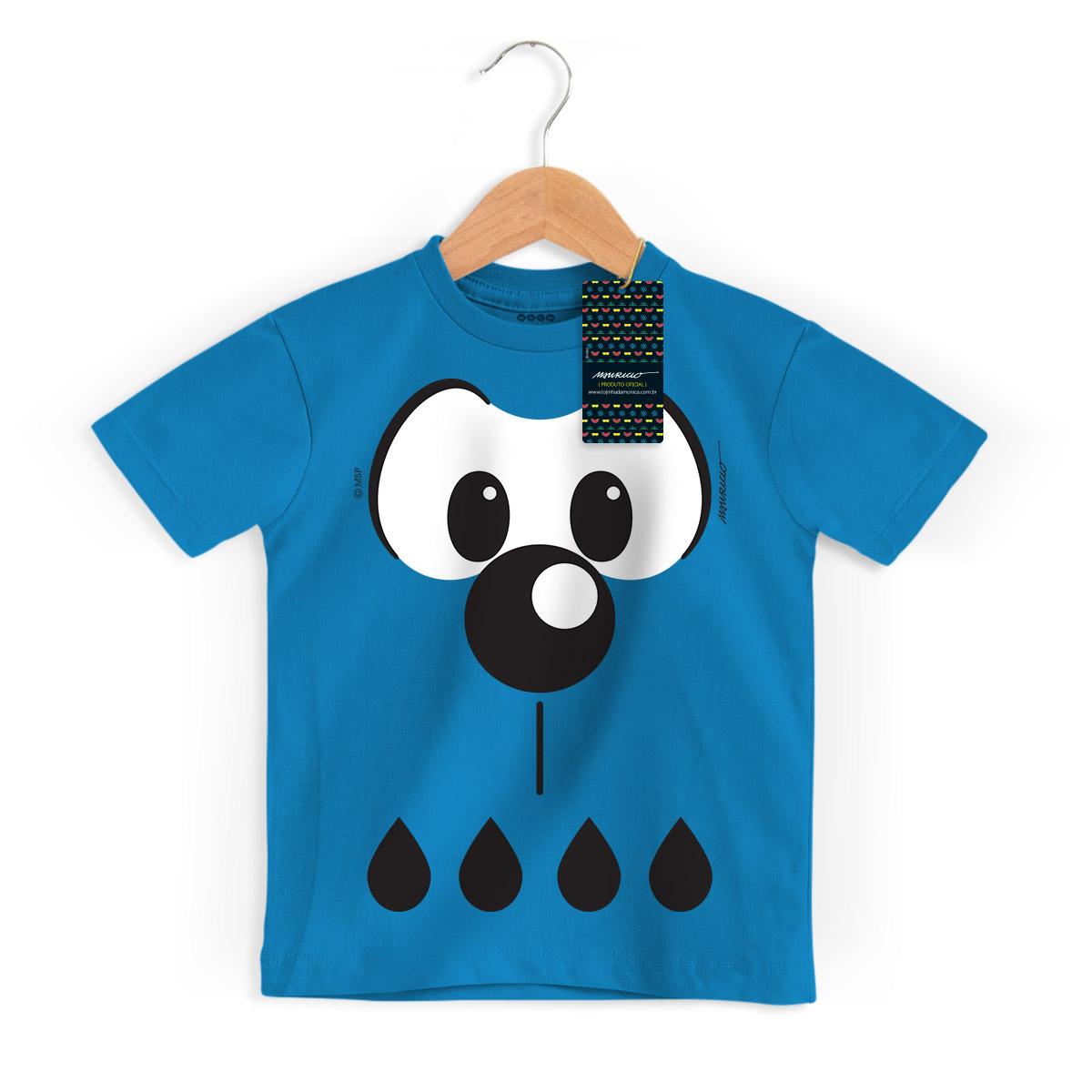 Camiseta Infantil Turma Da M�nica Kids Olh�es Bidu