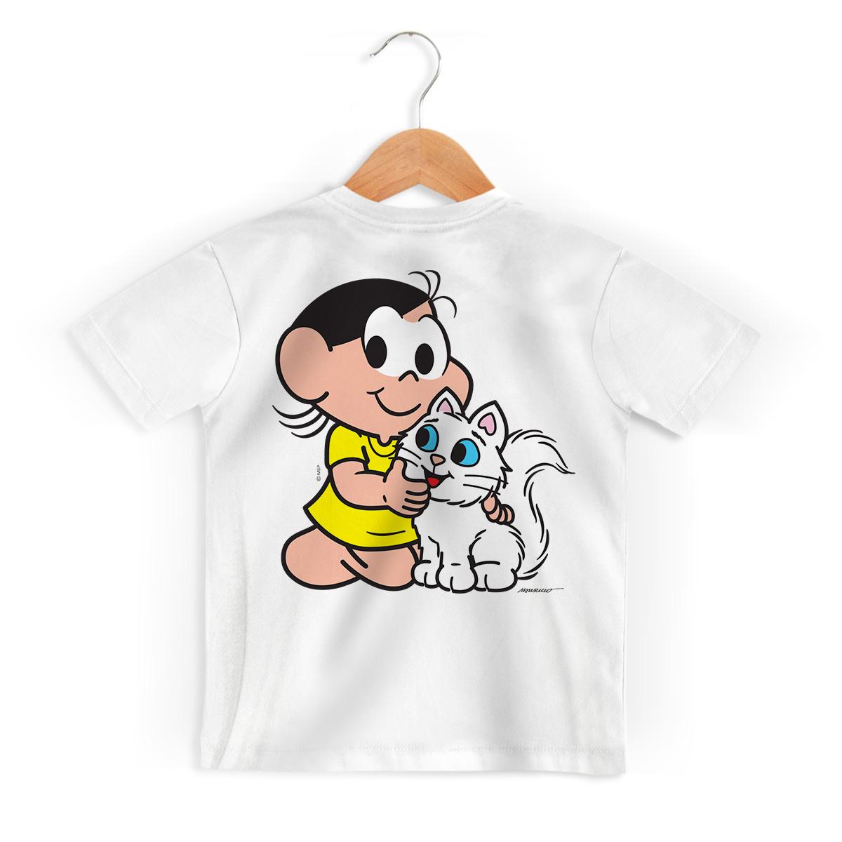 Camiseta Infantil Turma da M�nica Kids Olh�es Mingau