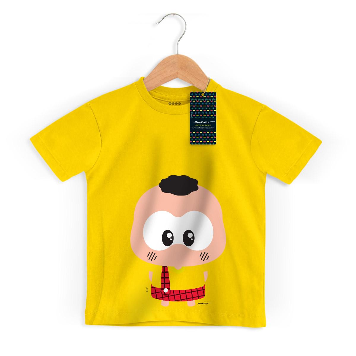 Camiseta Infantil Turma da Mônica Toy Big Cascão