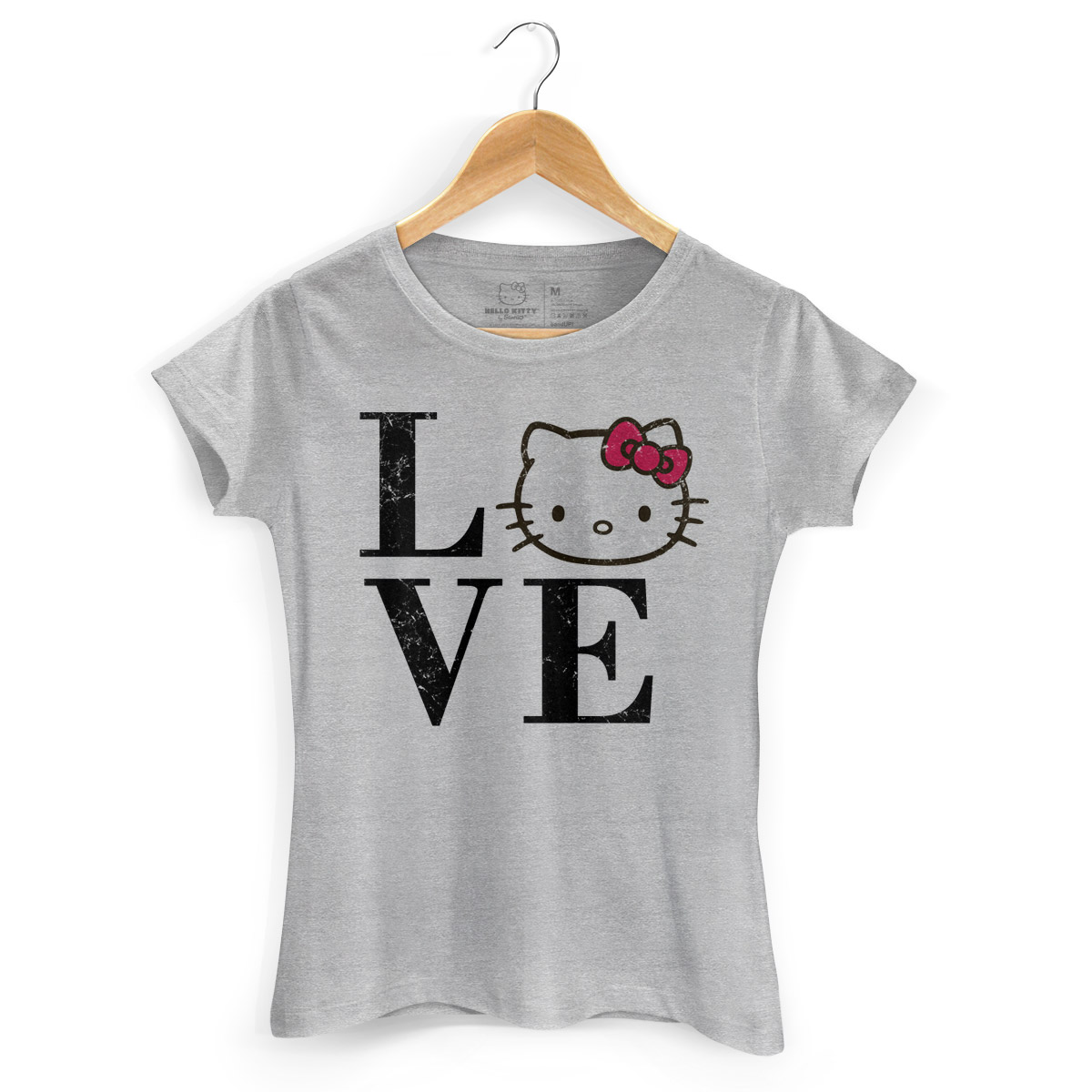 Camiseta Love Hello Kitty