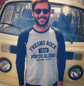 Camiseta Manga Longa Raglan Masculina Fresno Rock 4