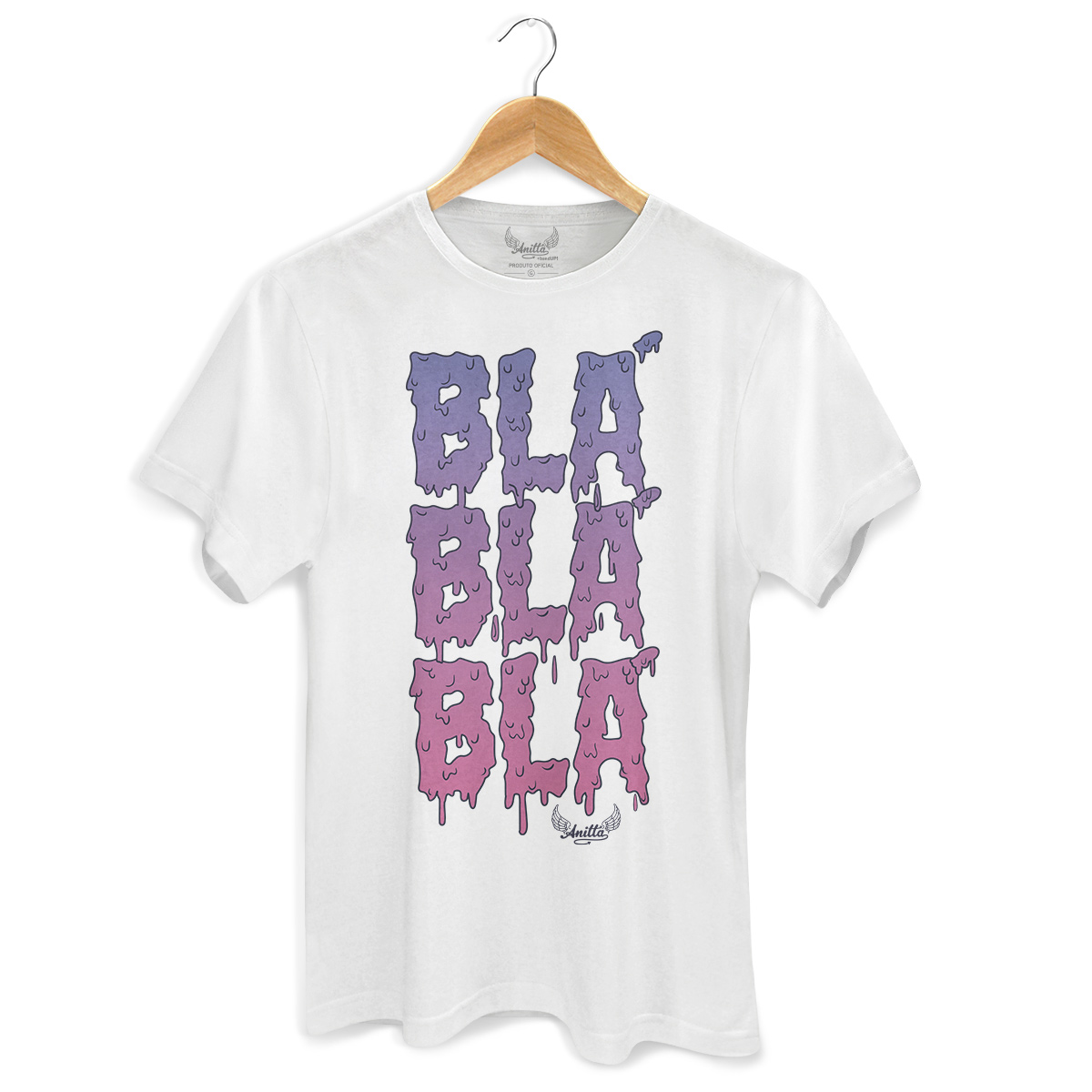 Camiseta Masculina Anitta Blá Blá Blá