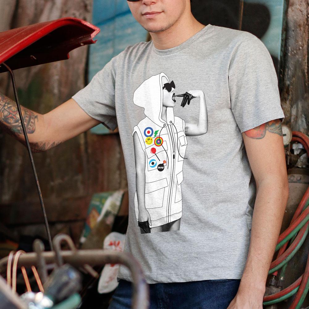 Camiseta Masculina Anitta Deixa a Onda te Levar
