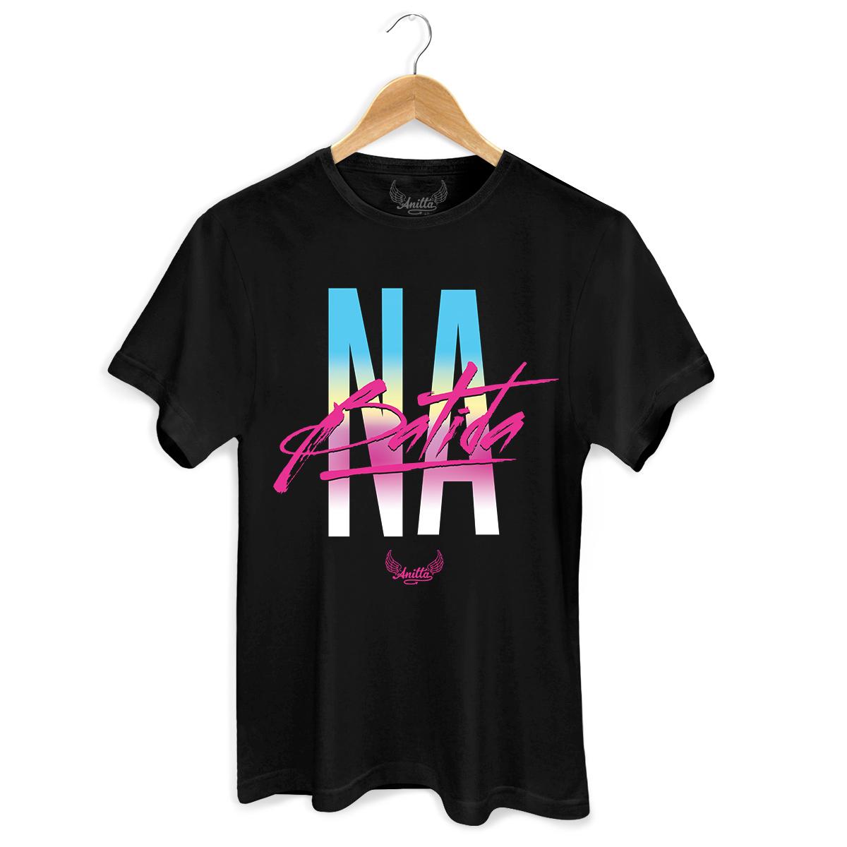 Camiseta Masculina Anitta Na Batida Type