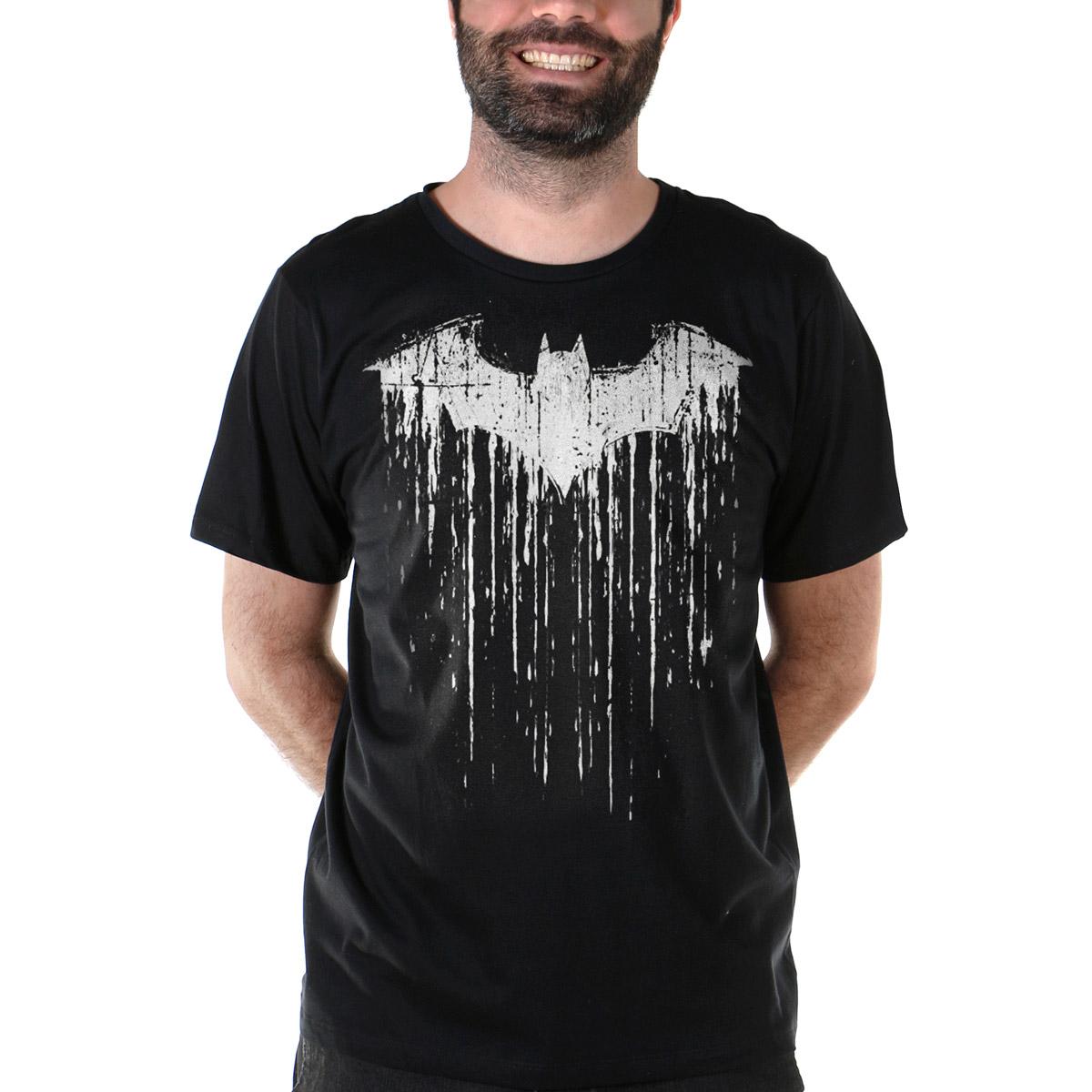 Camiseta Masculina Batman Melting