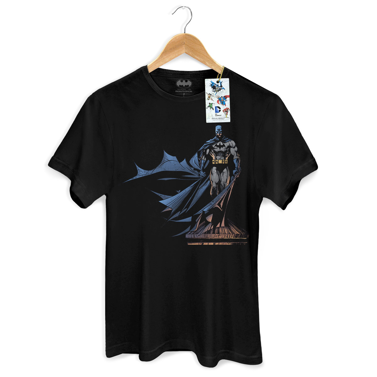 Camiseta Masculina Batman The Dark Knight 2