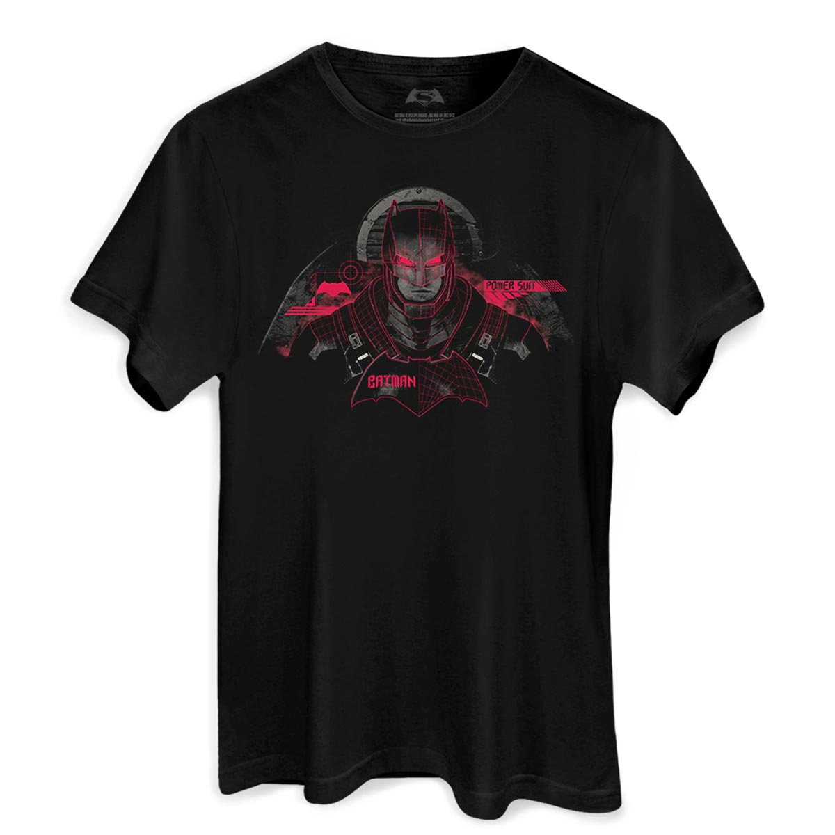 Camiseta Masculina Batman VS Superman Power Suit