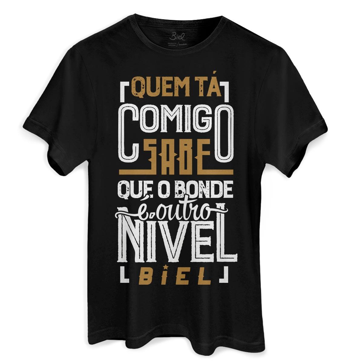 Camiseta Masculina Biel T� Tirando Onda