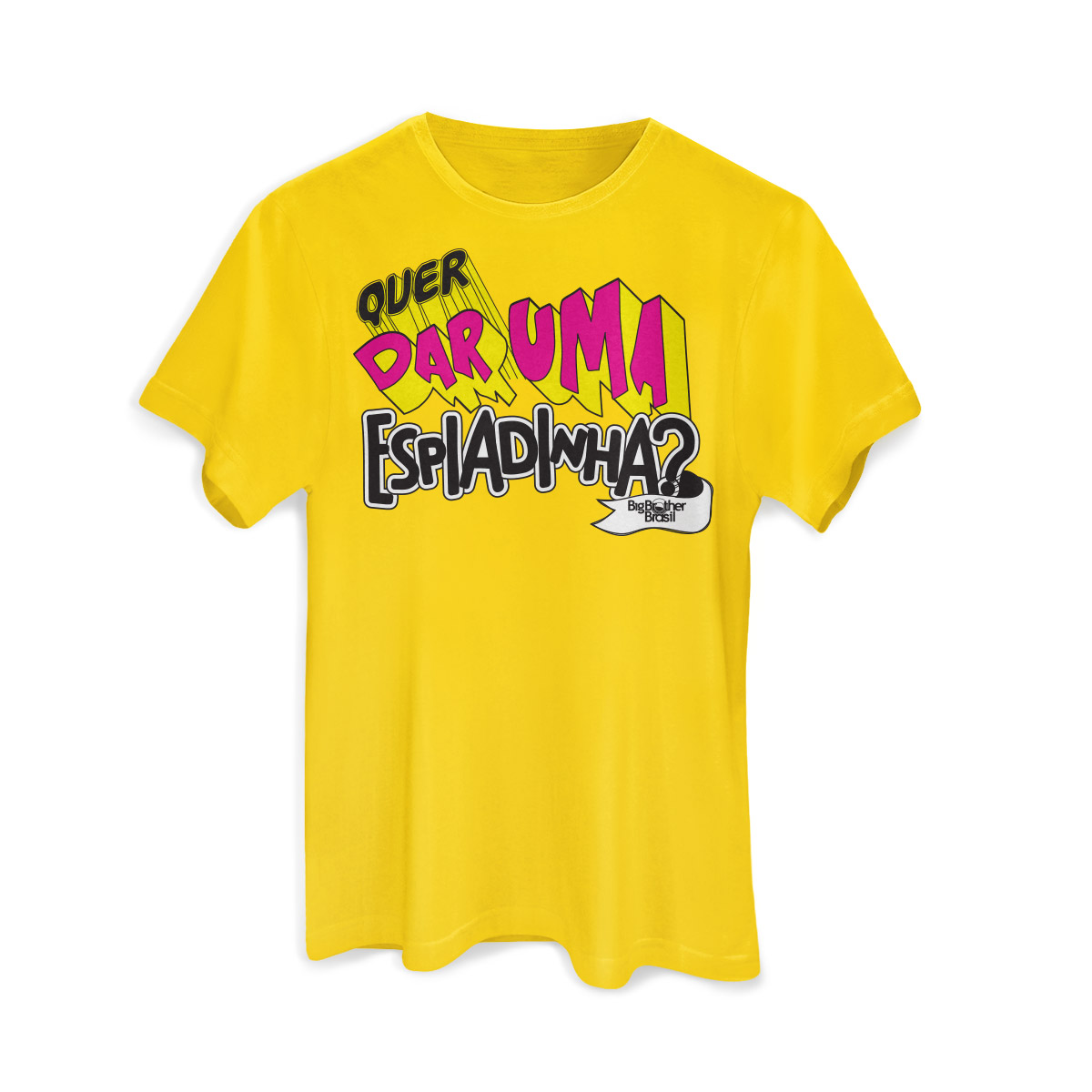 Camiseta Masculina Big Brother Brasil 15 Espiadinha
