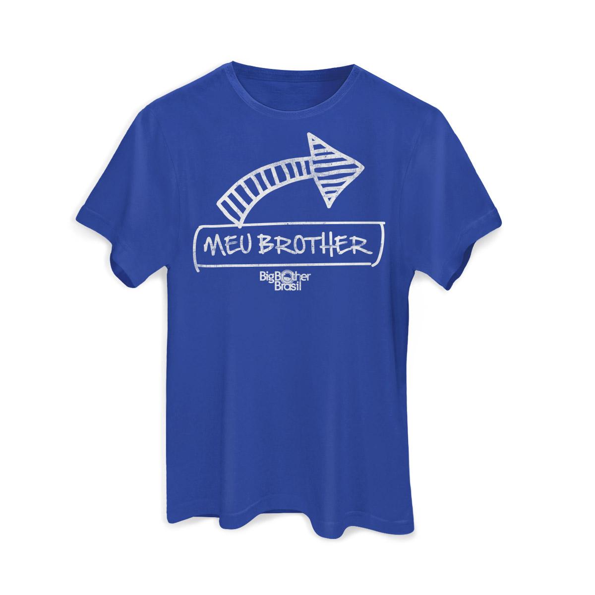 Camiseta Masculina Big Brother Brasil 15 Meu Brother