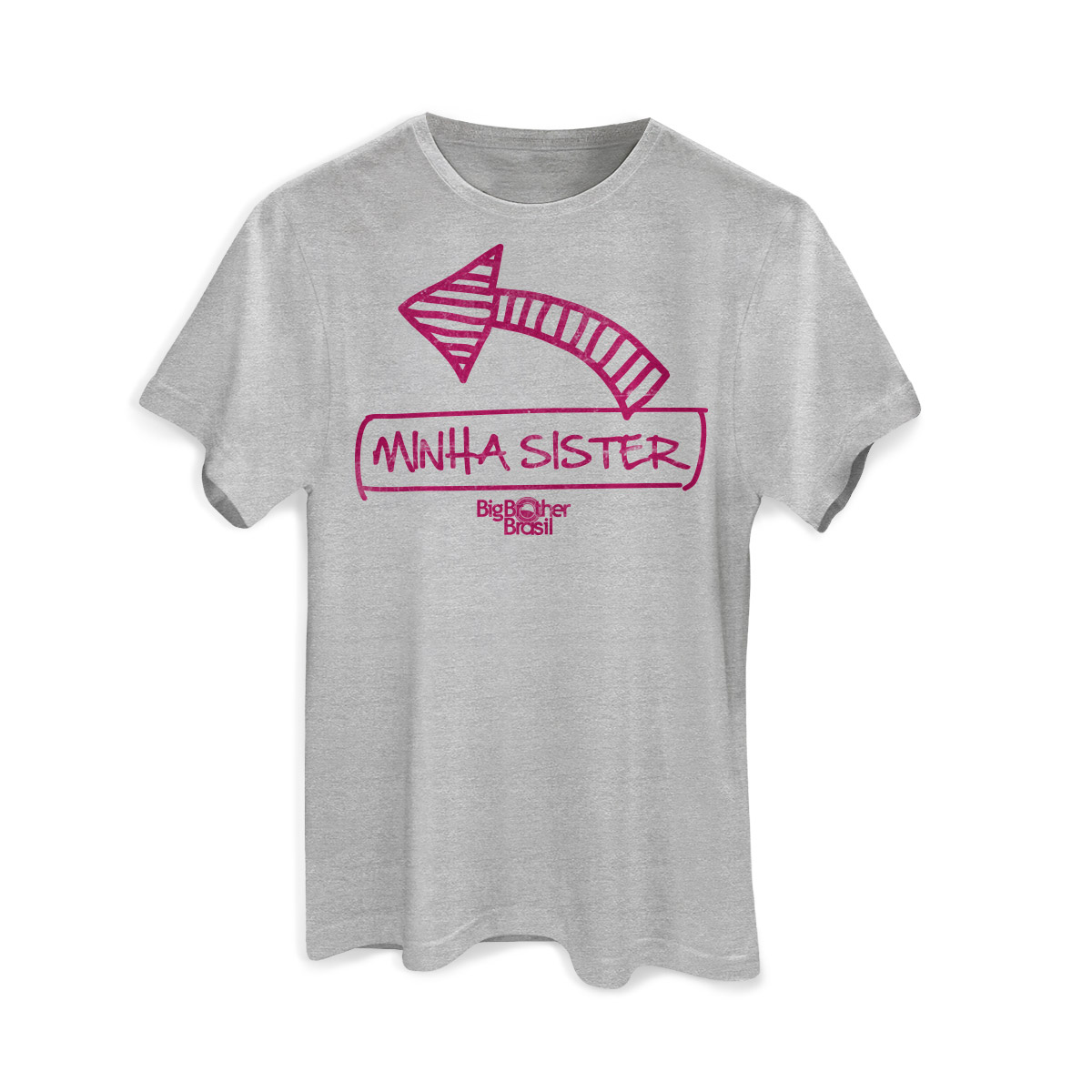 Camiseta Masculina Big Brother Brasil 15 Minha Sister Modelo 2