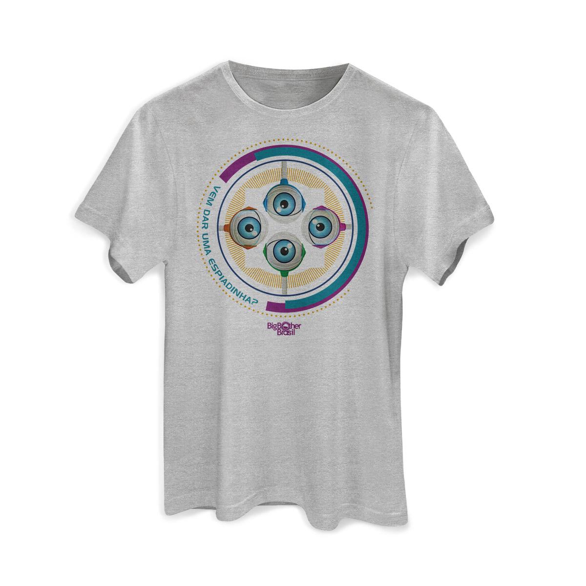 Camiseta Masculina Big Brother Brasil RoBBB Cores