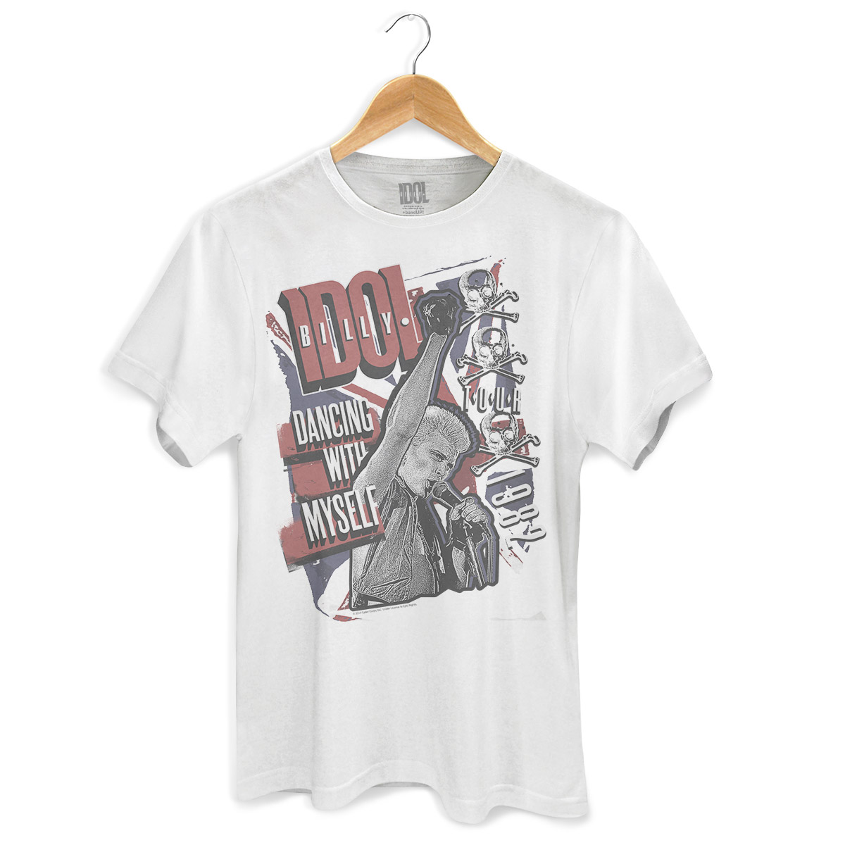 Camiseta Masculina Billy Idol Dancing With Myself