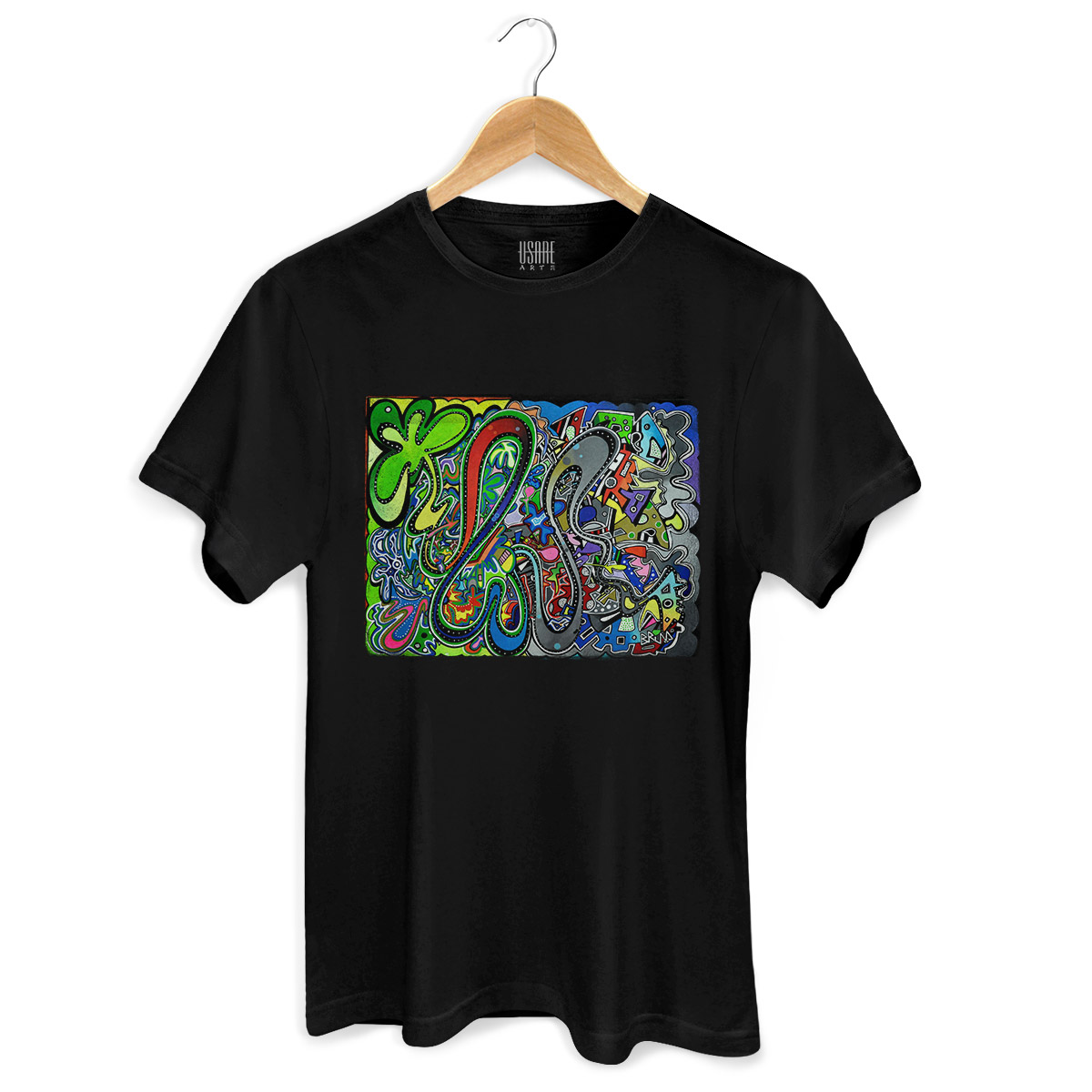 Camiseta Masculina Bruna Forest x City