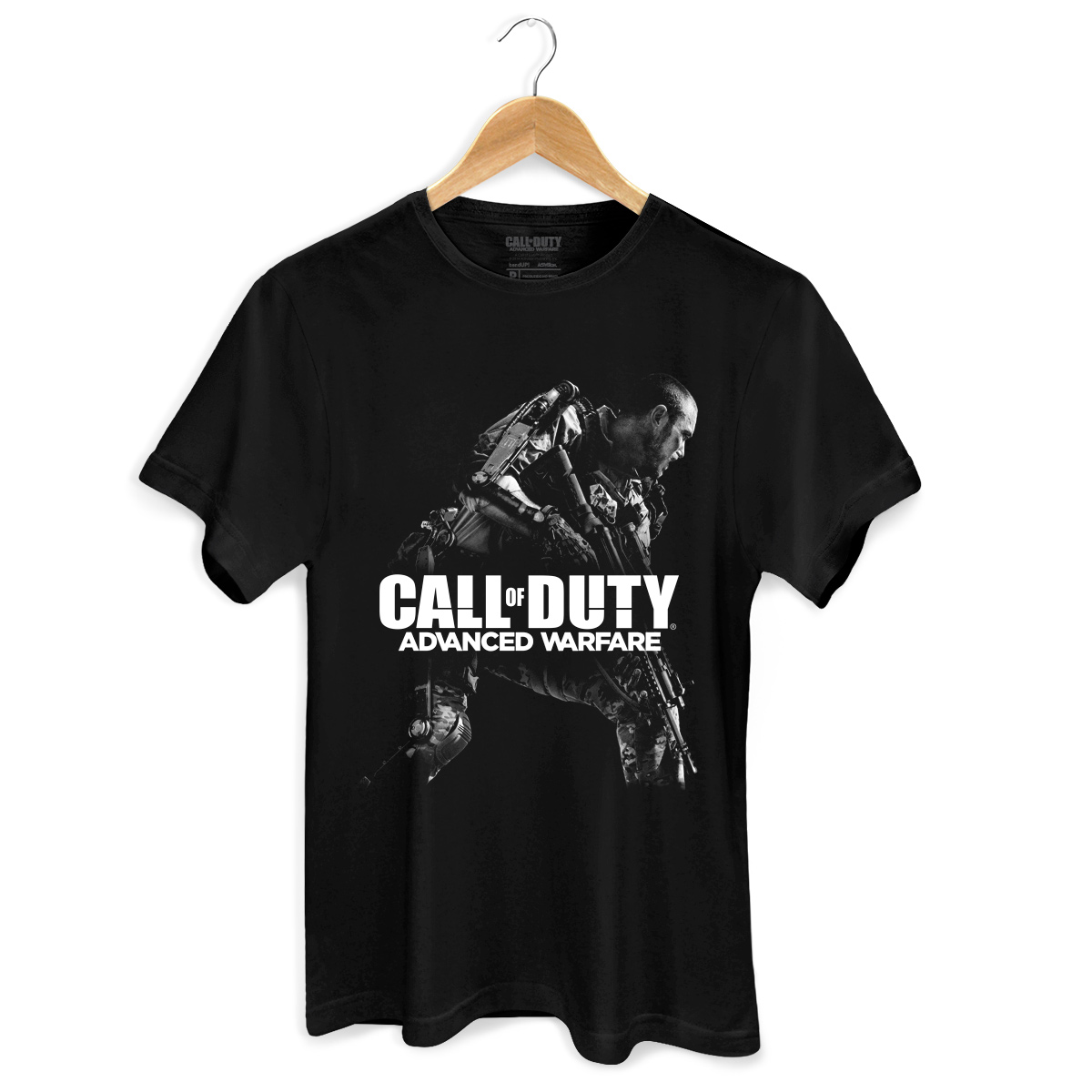 Camiseta Masculina Call Of Duty Shadow Soldier