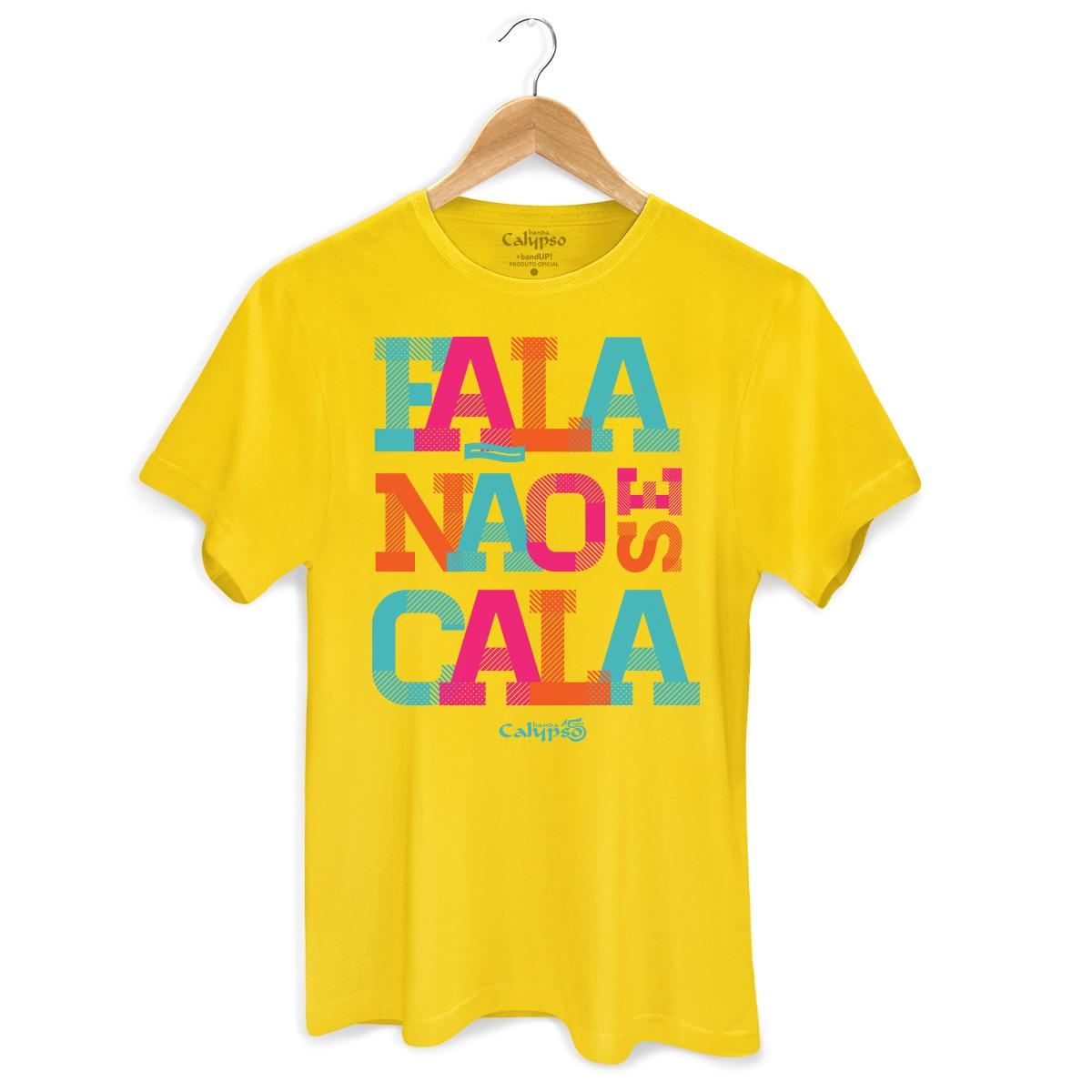 Camiseta Masculina Calypso Fala Não Se Cala