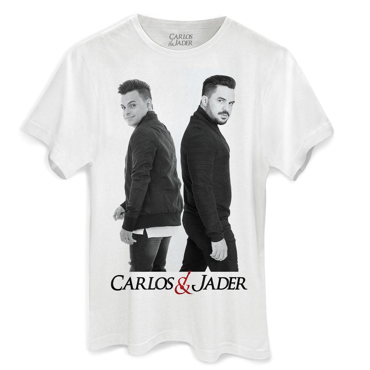 Camiseta Masculina Carlos & Jader Foto