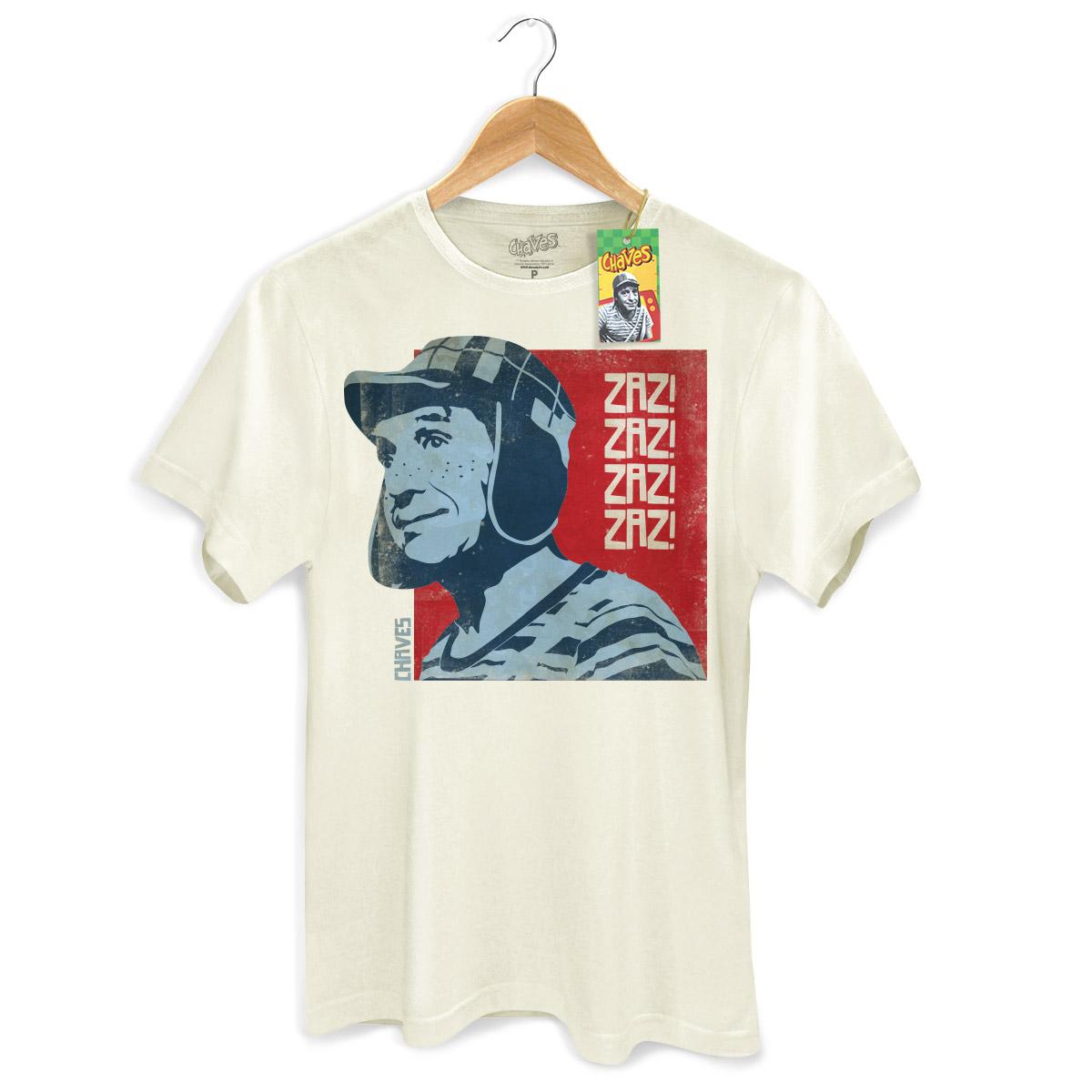 Camiseta Masculina Chaves Zaz! Zaz! Vintage
