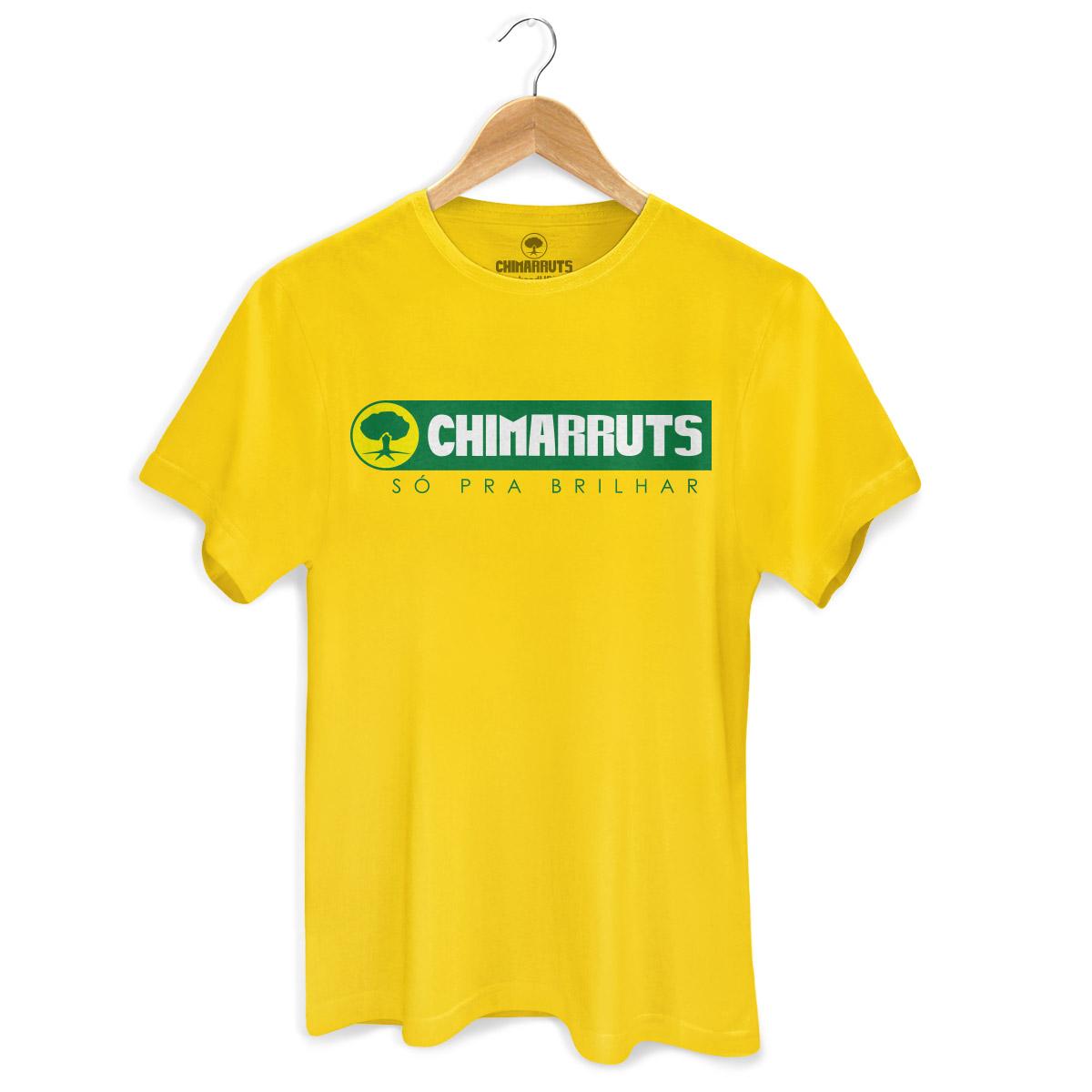 Camiseta Masculina Chimarruts Só Pra Brilhar