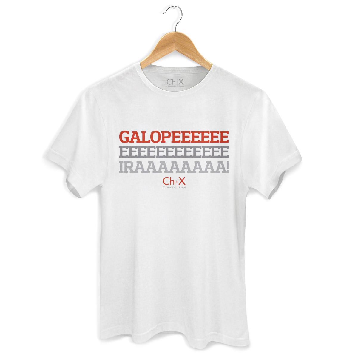 Camiseta Masculina Chitãozinho & Xororó Galopeira