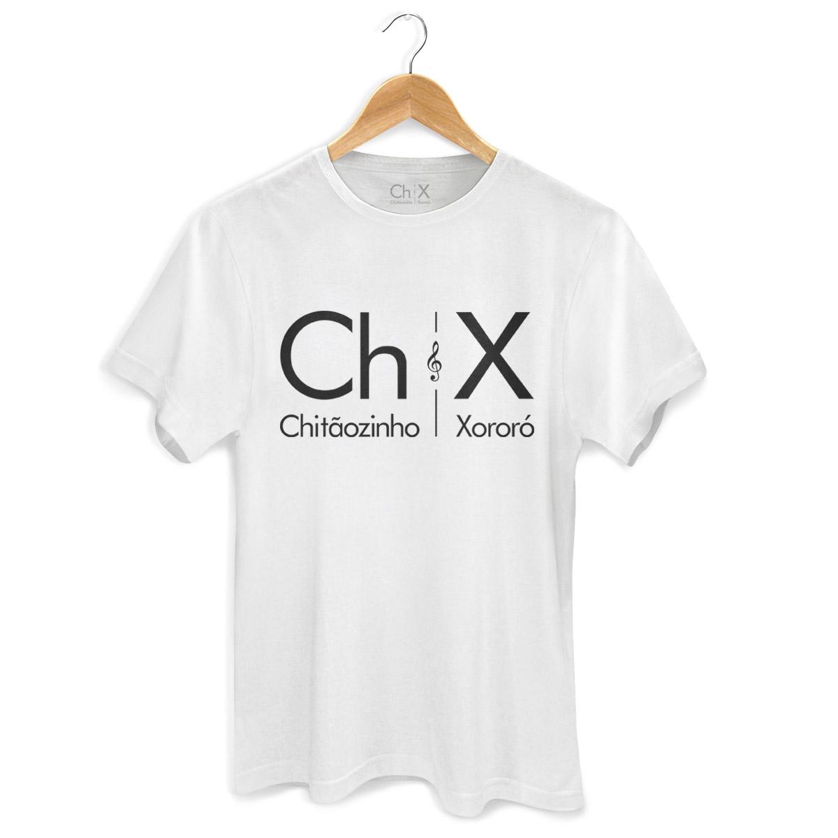 Camiseta Masculina Chitãozinho & Xororó Logo
