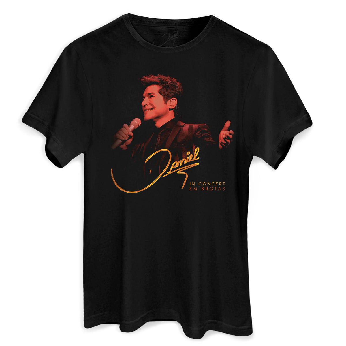 Camiseta Masculina Daniel In Concert