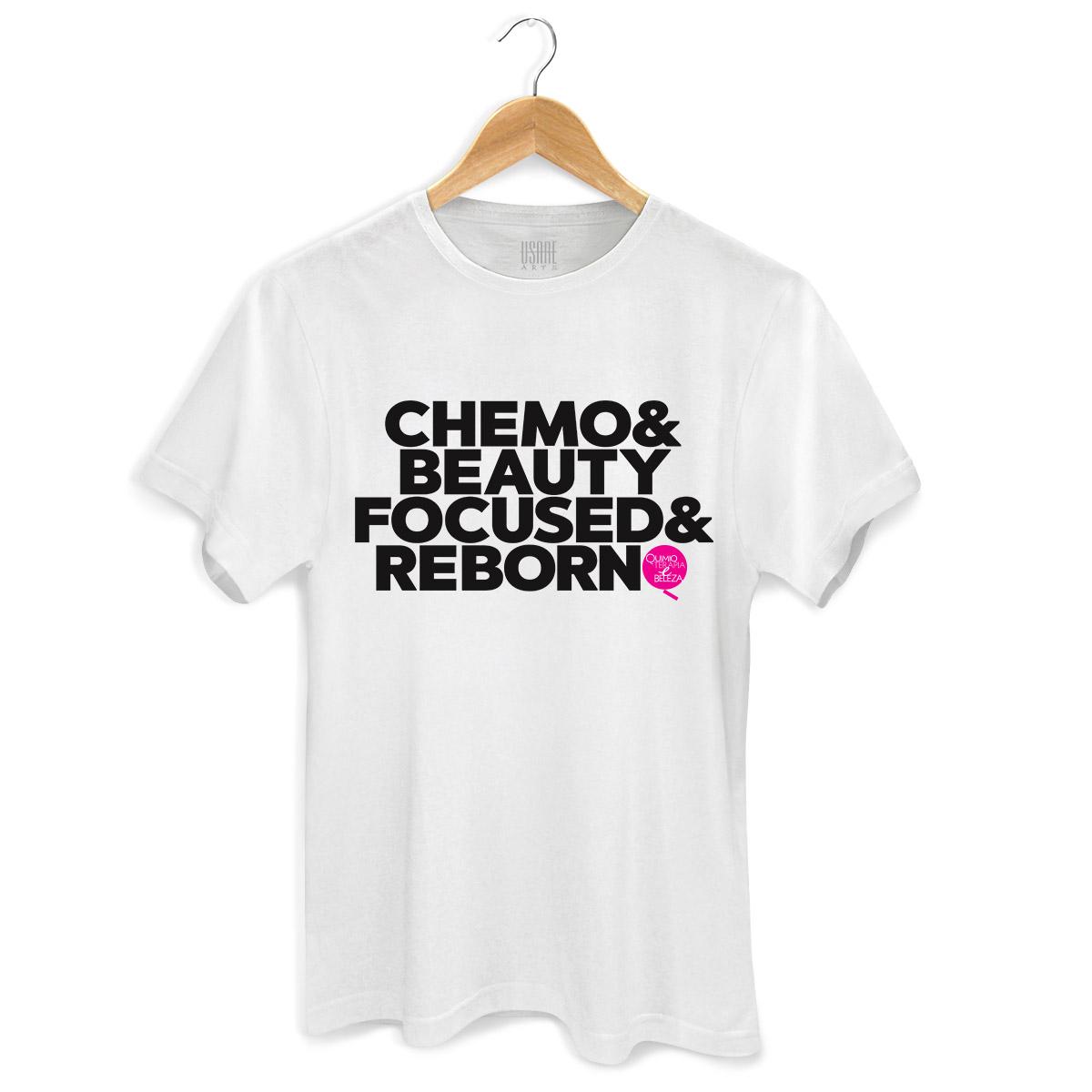 Camiseta Masculina QeB Chemo & Beauty