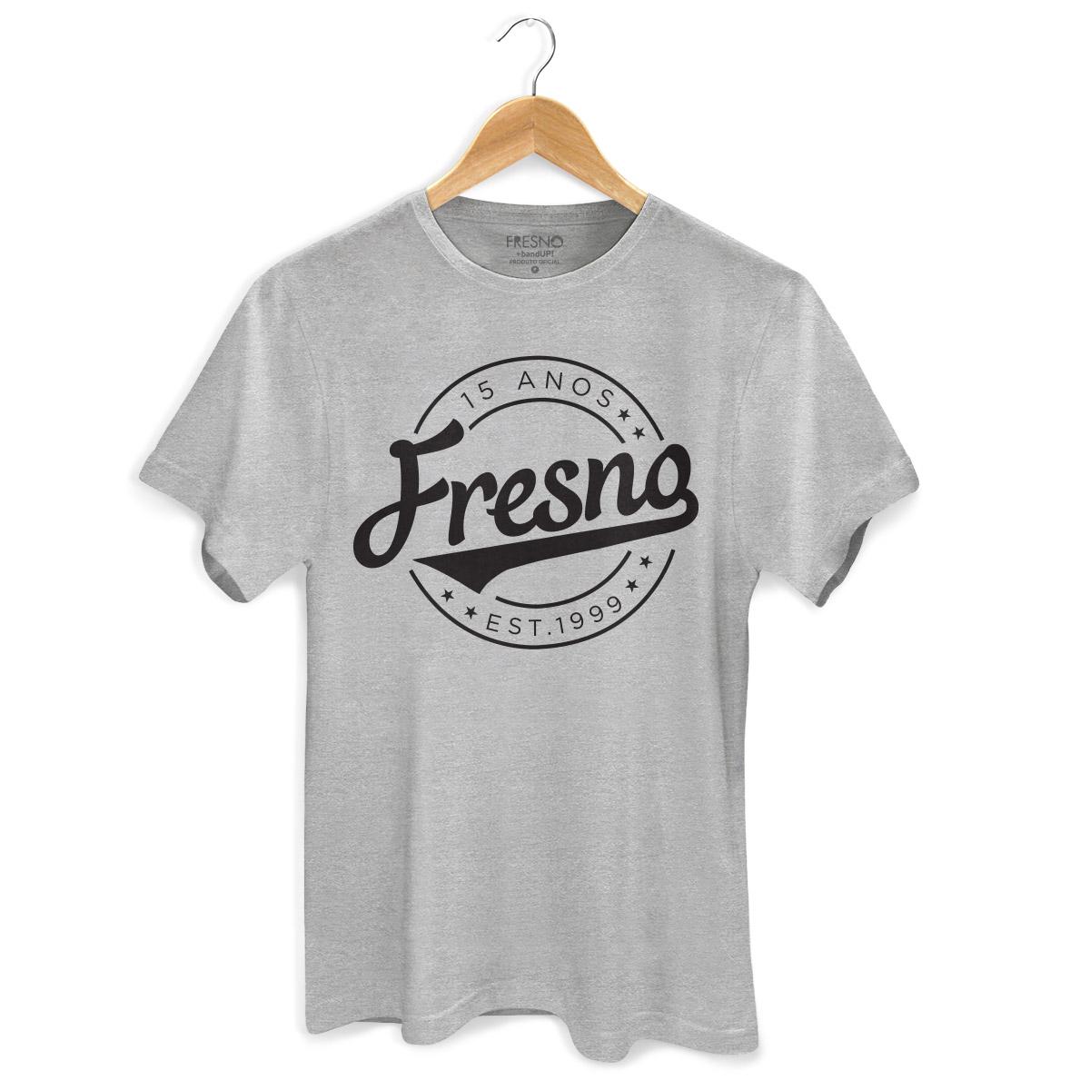Camiseta Masculina Fresno 15 Anos Est 1999