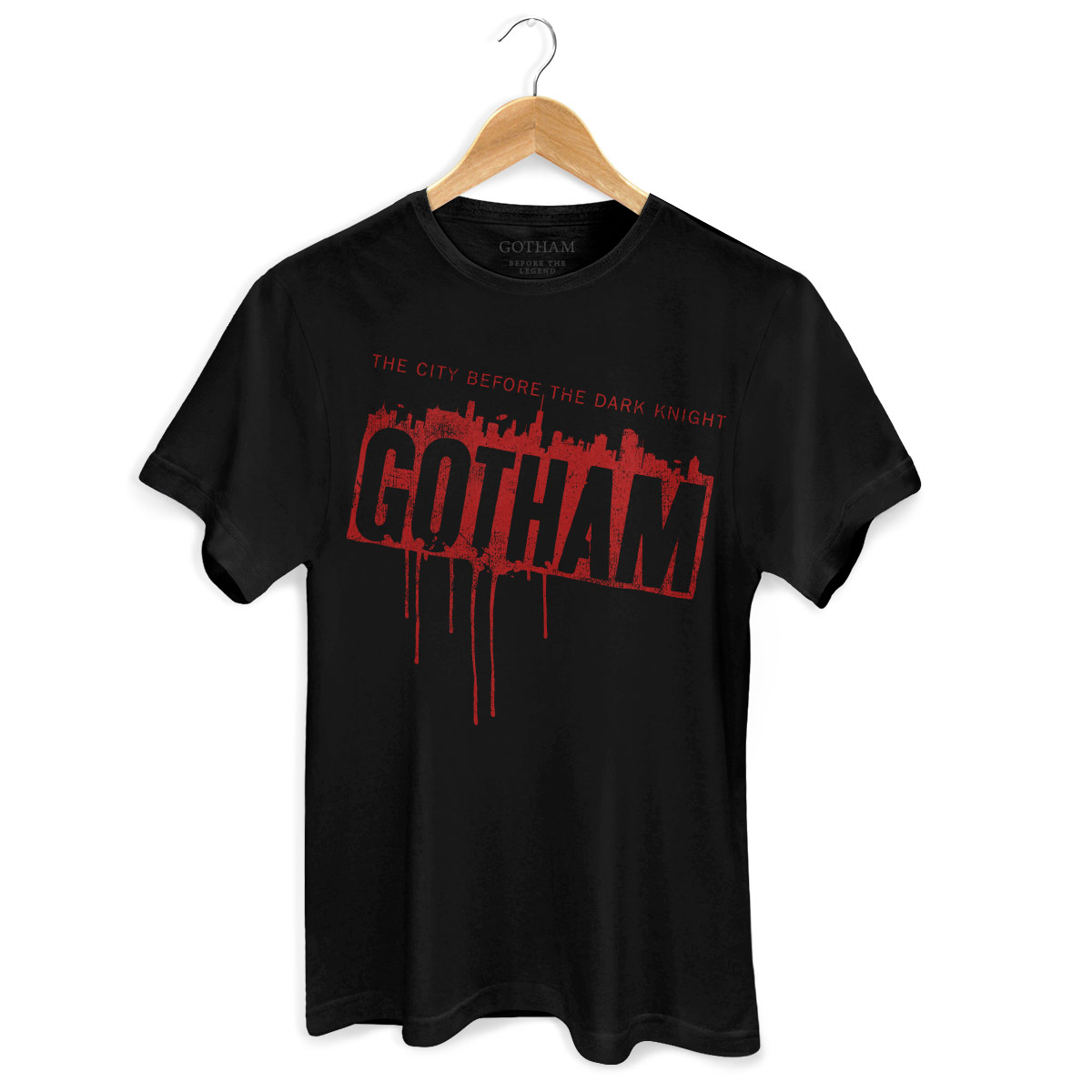 Camiseta Masculina Gotham Before The Dark Knight
