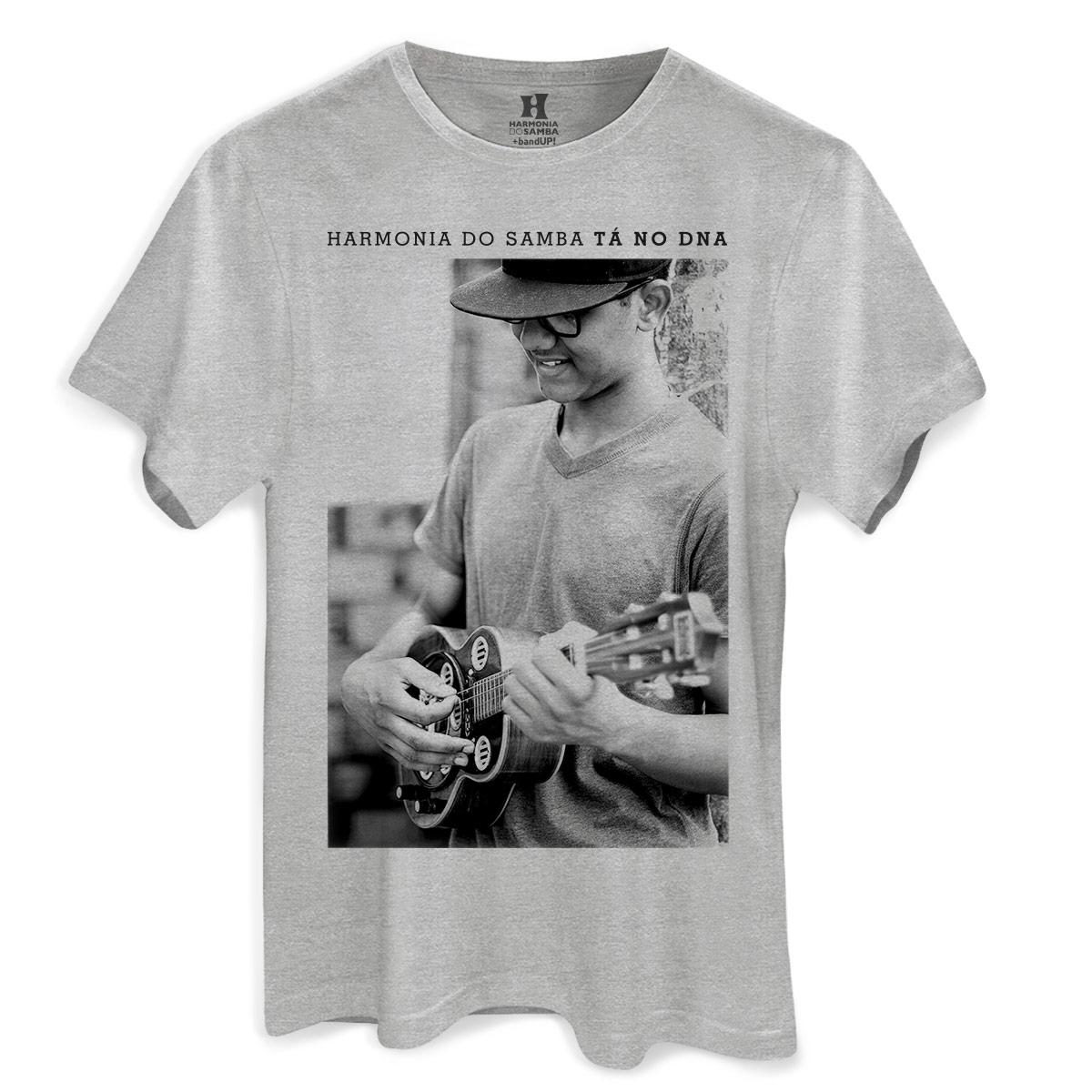 Camiseta Masculina Harmonia do Samba Molejinho