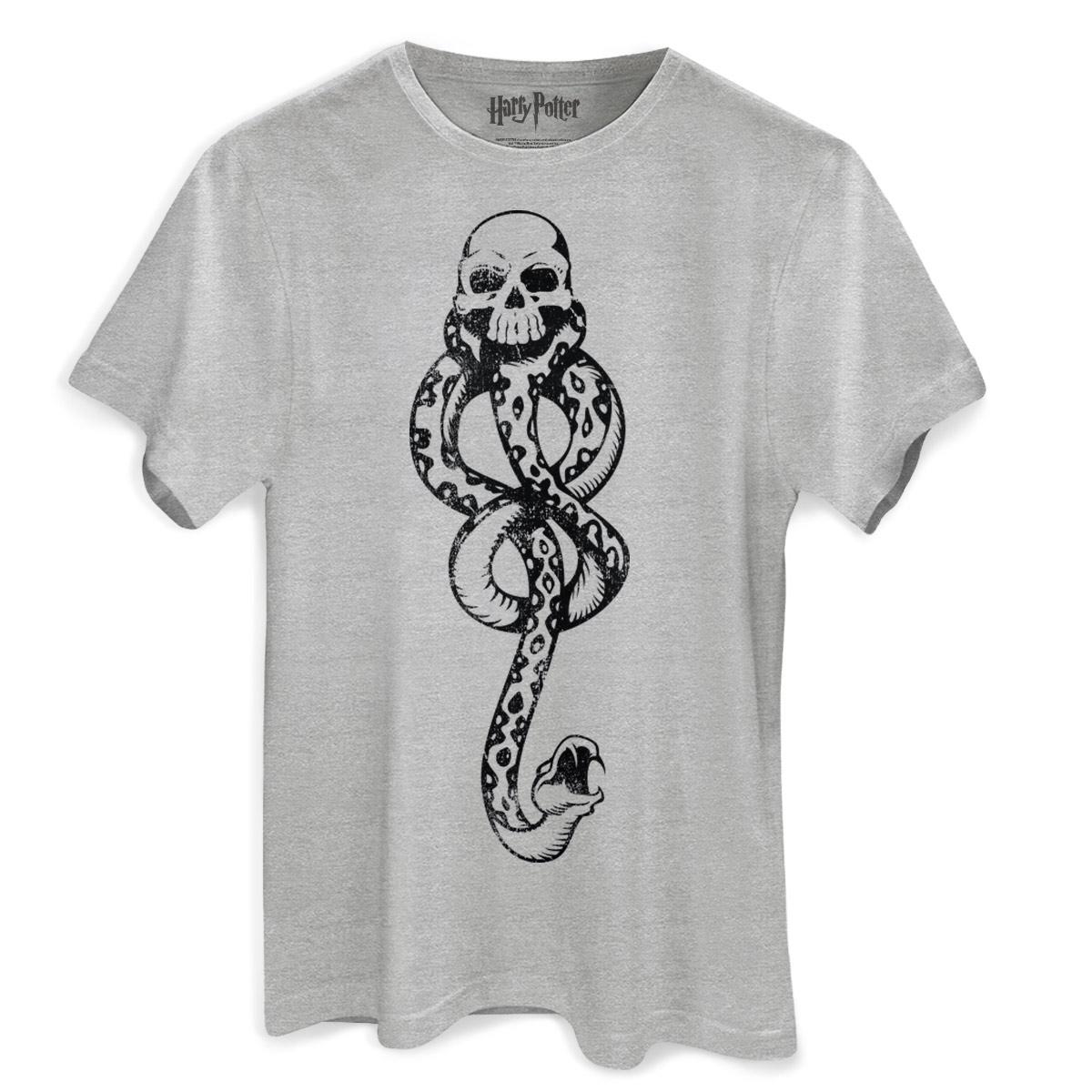 Camiseta Masculina Harry Potter A Marca Negra